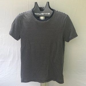 Gap Striped Navy Blue T-shirt